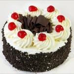 Swiss – 2.2 Pounds Black Forest Round Shape Cake