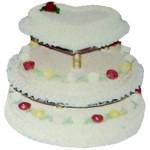 Swiss – 12 Pounds Vanilla 3 Step Cake