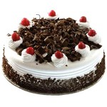 Yummy Yummy – 2.2 Pounds Black Forest Round Shape Cake