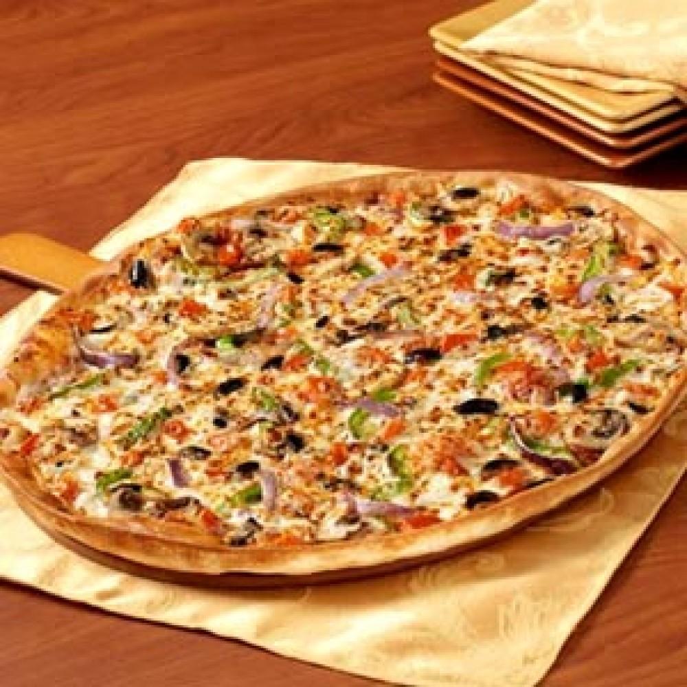 Veggie Supreme Pizza – Family Size