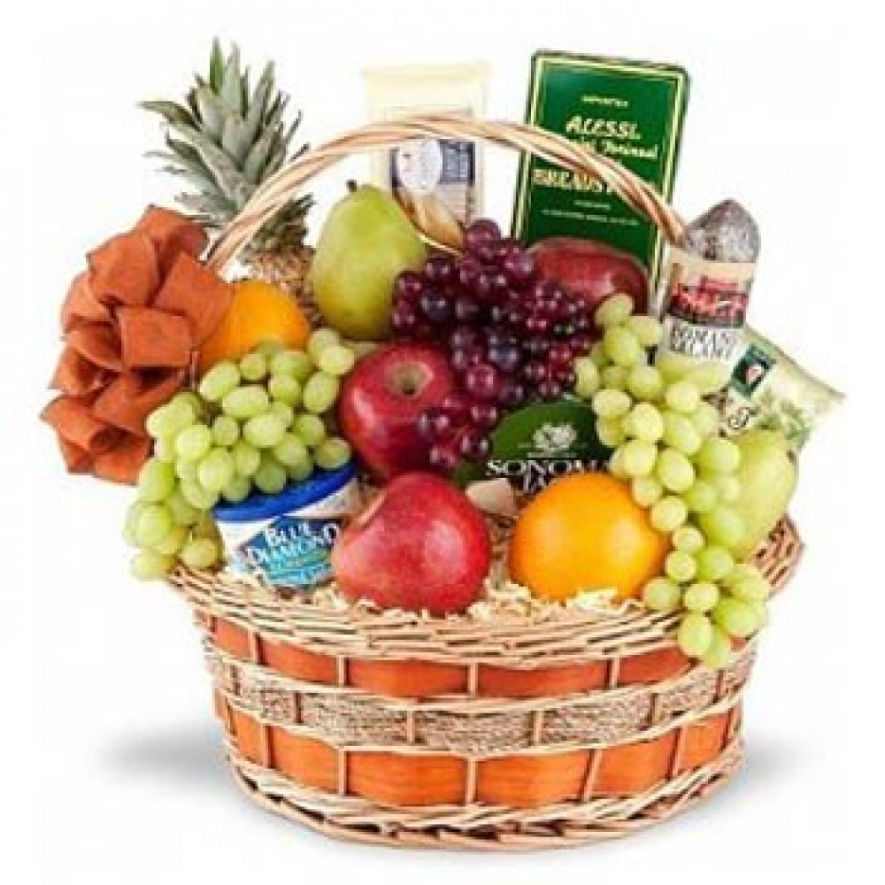 Assorted Fruit Basket