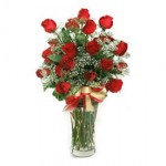 A Grand Bouquet of Red Roses