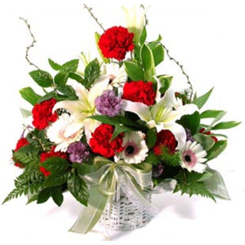 Awesome Floral Basket
