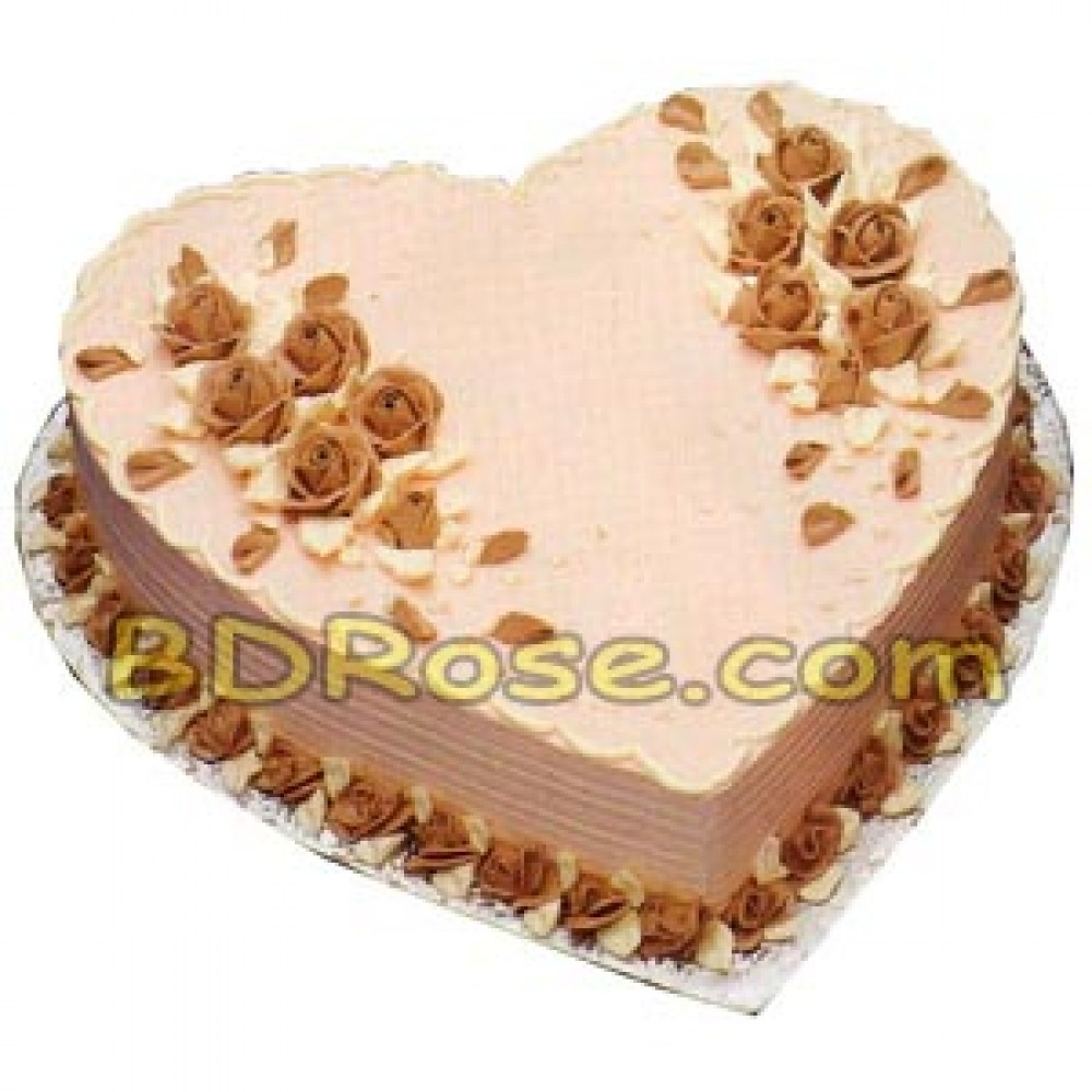Hot Cake – 4.4 Pounds Chocolate Heart Cake