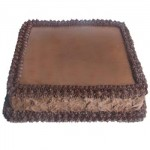 Cooper's – 4.4 Pounds Chocolate Square Shape Cake