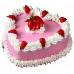 Cooper's – 4.4 Pounds Vanilla Heart Shape Cake