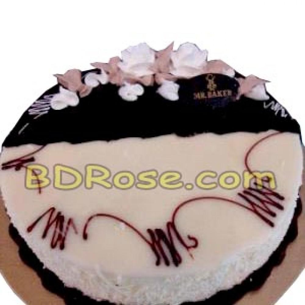 Mr. Baker – 2.2 Pounds Chocolate & Vanilla Mix Cake