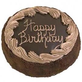 Swiss – 3.3 Pounds Chocolate Round Shape Cake