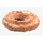 Single Glazed Vanilla Cake Doughnut