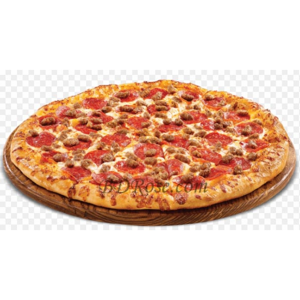 Beef Sausage Pizza(Medium)