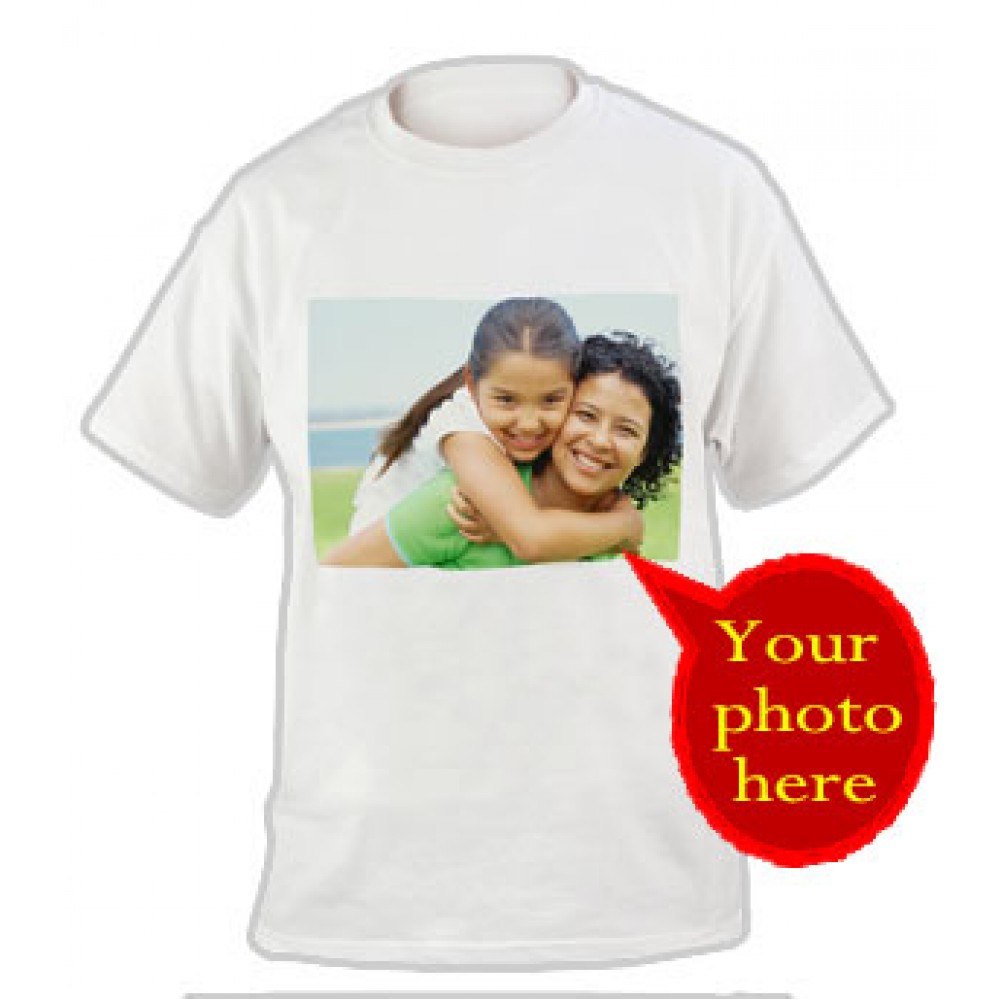 Personalized Photo Print T-Shirt
