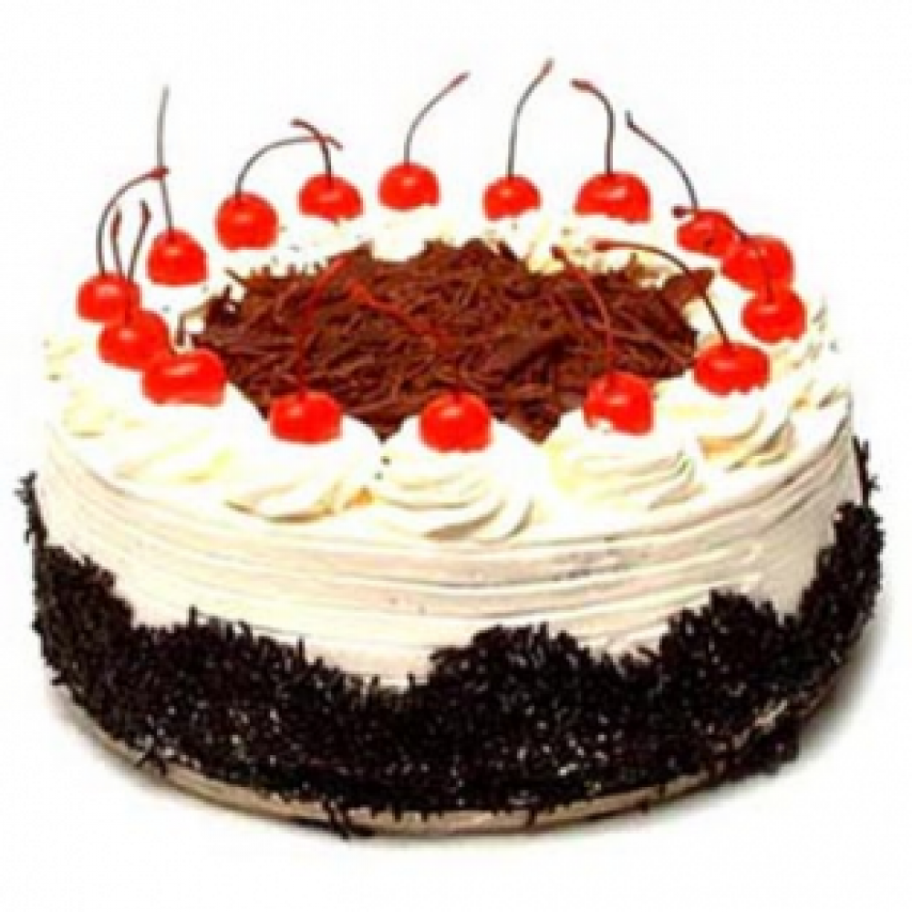 Cooper's – 2.2 Pounds Black Forest Round Shape Cake