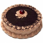 Cooper's – 4.4 Pounds Black Forest Round Shape Cake