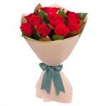 12pcs Red Rose