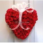 50 Heart Shape roses