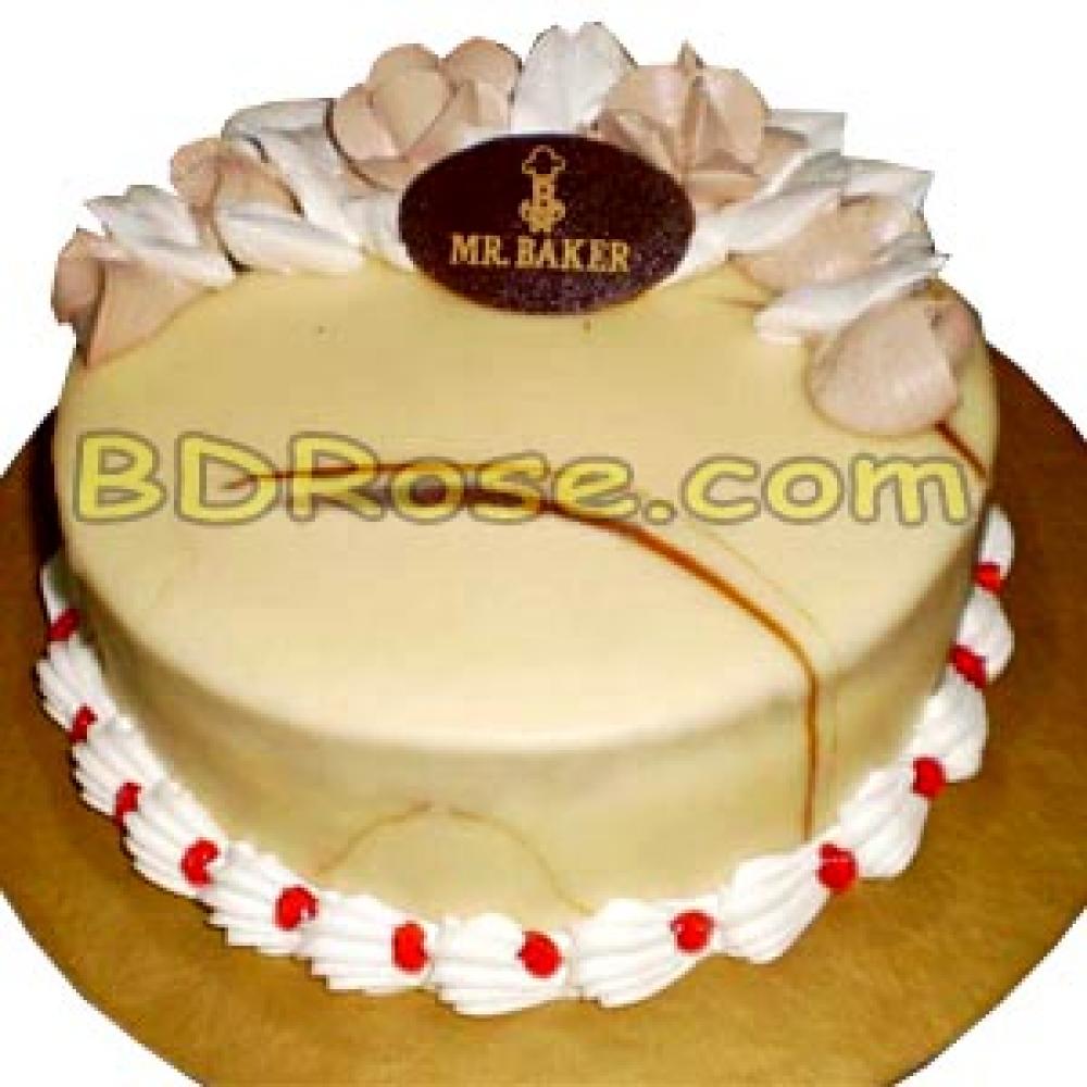 Mr Baker 2 2 Pounds Marble Round Cake