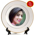 Classy personalized picture plate