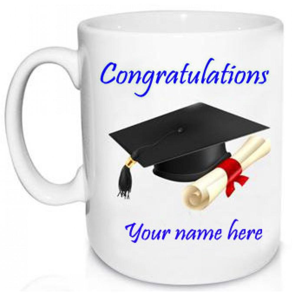 Personalized Congrats Coffee Mug