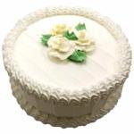 Cooper's – 4.4 Pounds Vanilla Round Shape Cake