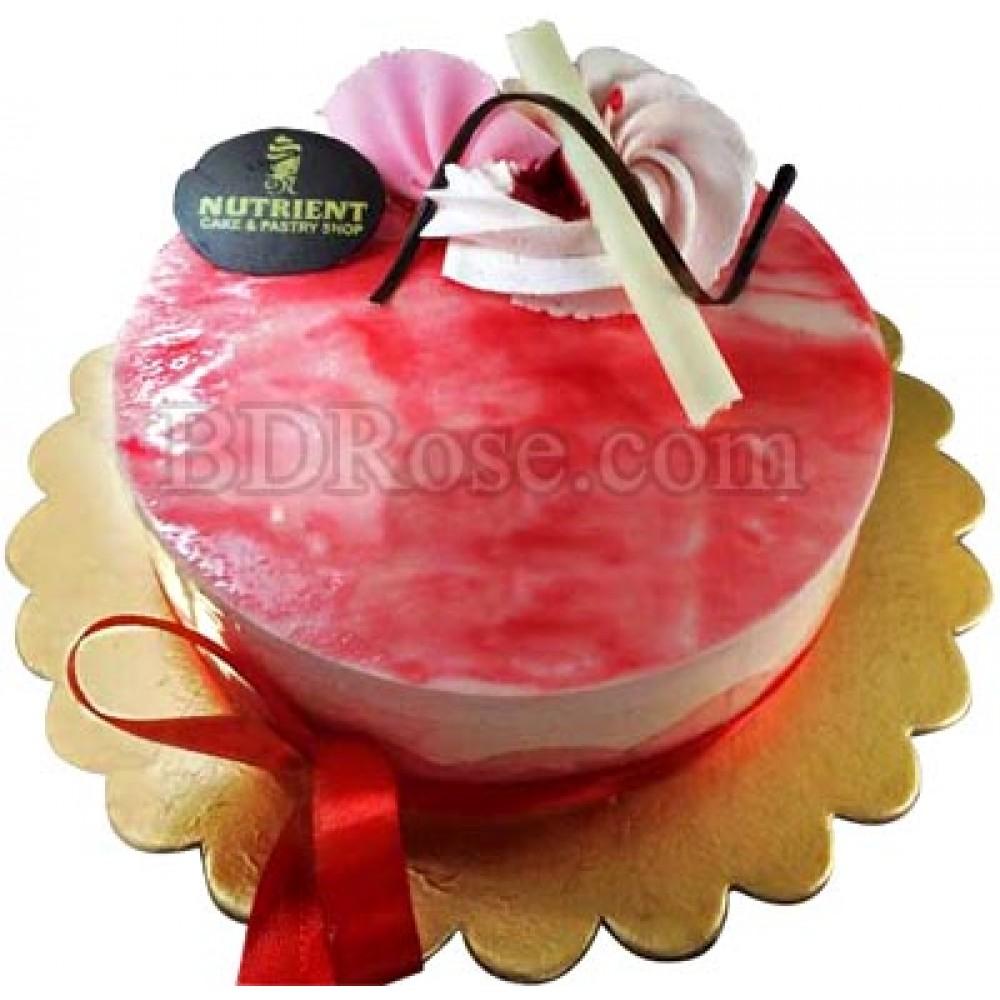 2.2 pounds Strawberry Mousse Cake