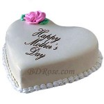 Skylark-Vanilla Heart shape Cake(3.3 pounds)