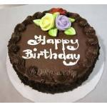 Skylark-Chocolate Round Cake (2.2 Pounds)