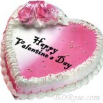 Skylark-Vanilla Heart Cake(3.3 pounds)