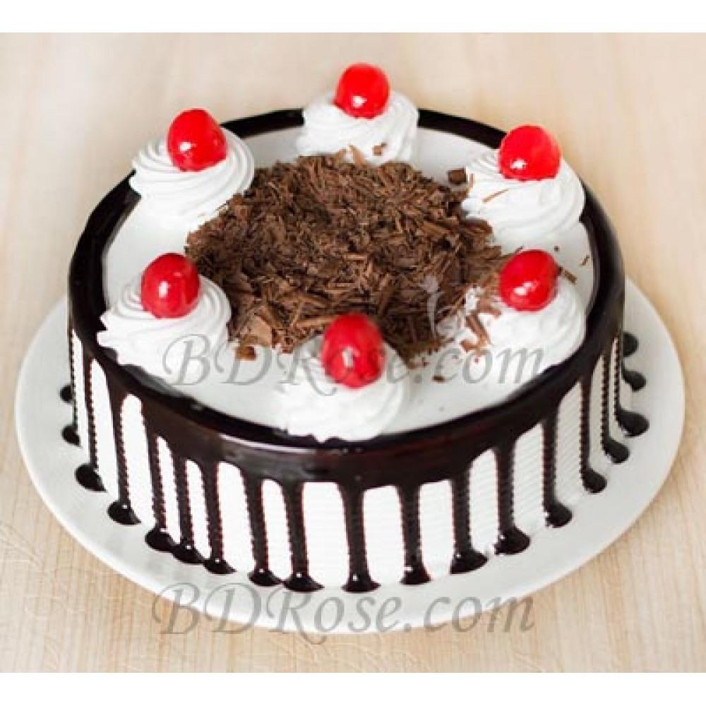 Skylark-Black Forest Round Cake(1.1 pounds)