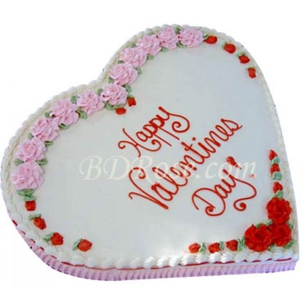 Skylark-Vanilla Heart Cake(2.2 pounds)
