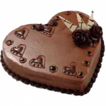 Cooper's – 4.4 Pounds Chocolate Heart Shape Cake