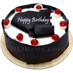 California- 2.2 Pounds Black Forest Round Cake