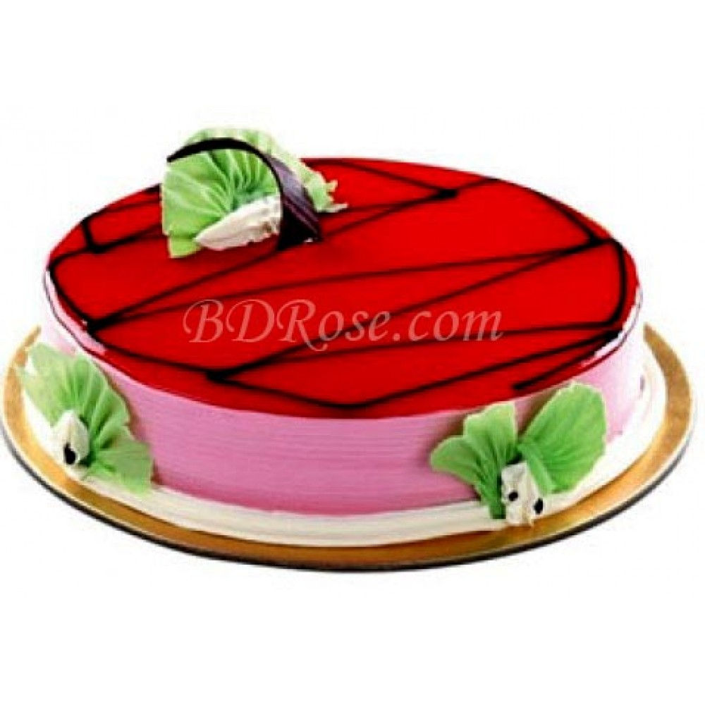 Strawberry Round Cake(2.2 pounds)