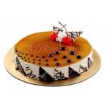 Coffee Round Shape Cake(2.2 pounds)