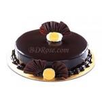 Chocolate Round Shape Cake(2.2 pounds)