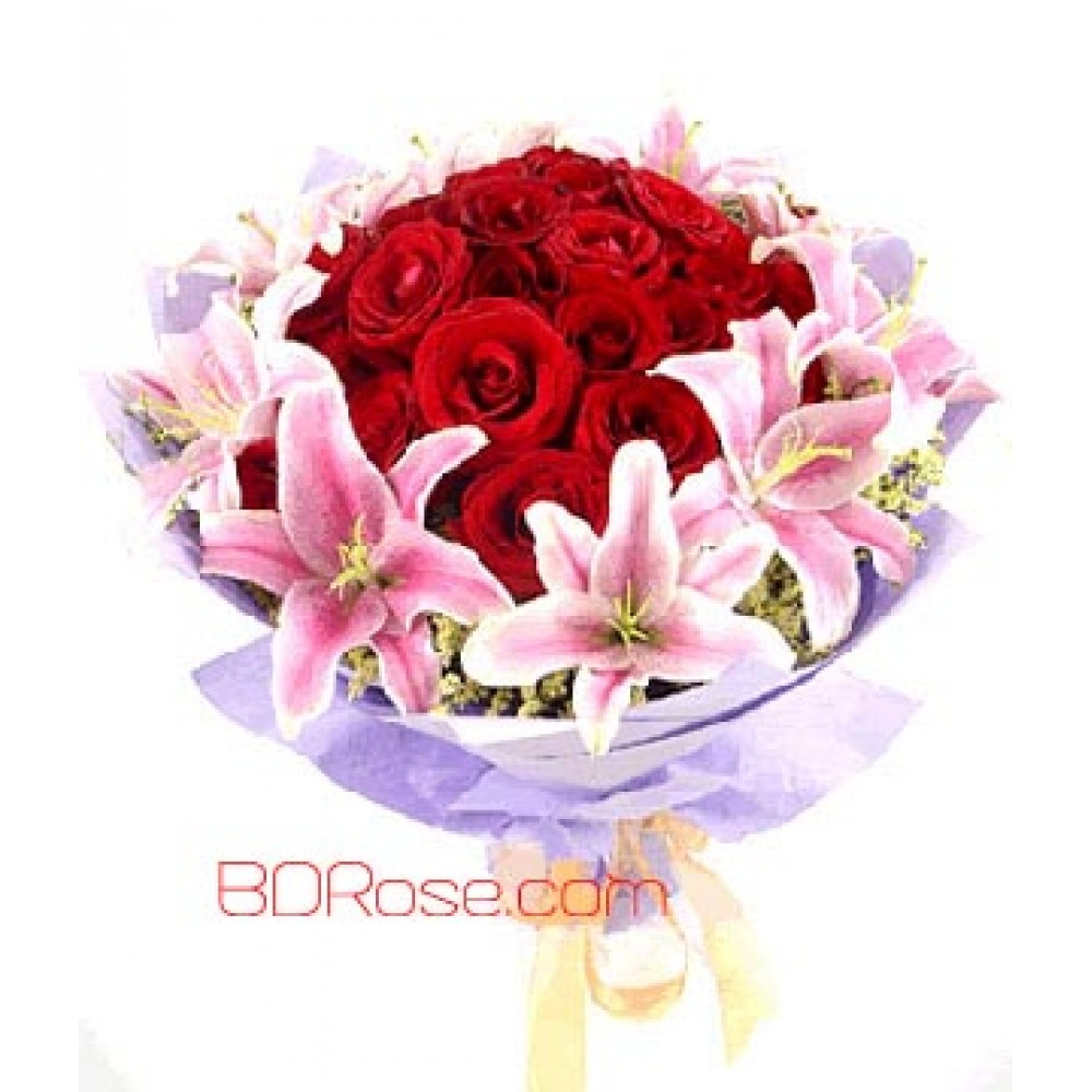 Nice Exotic Flowers Bouquet