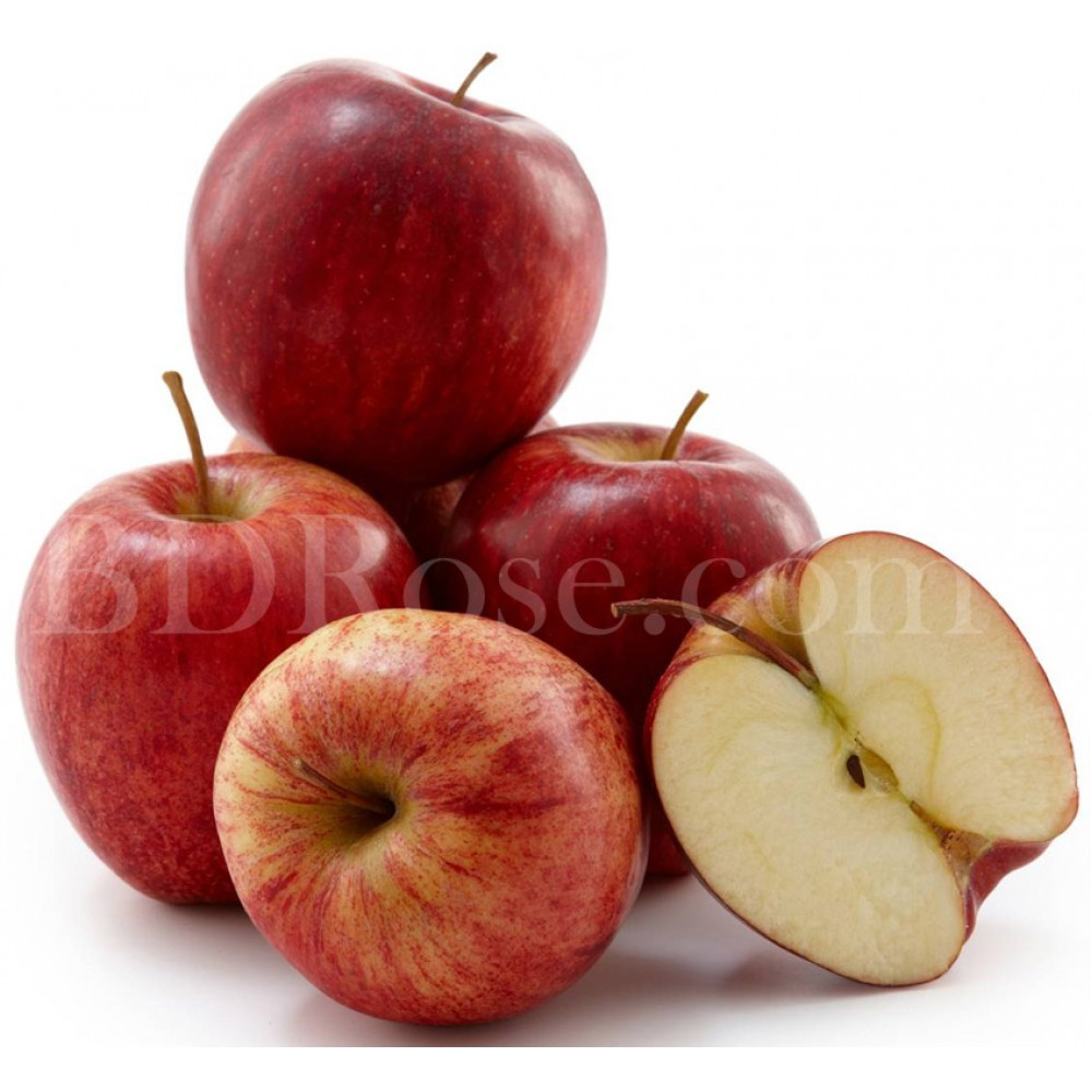 Red apple 1kg in basket