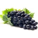 1 kg black grapes basket